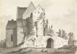 Hinton Priory, chapel f.44